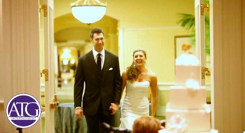 Charlotte Wedding DJ Introduces Bride And Groom
