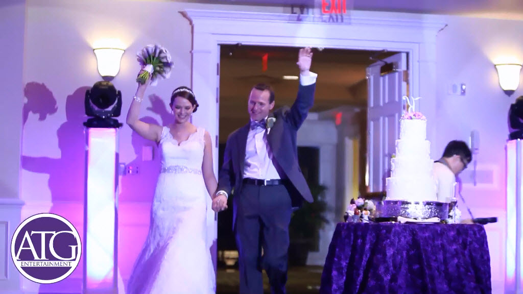 Ballantyne Hotel & Lodge Charlotte NC - Bride & Groom Introduction
