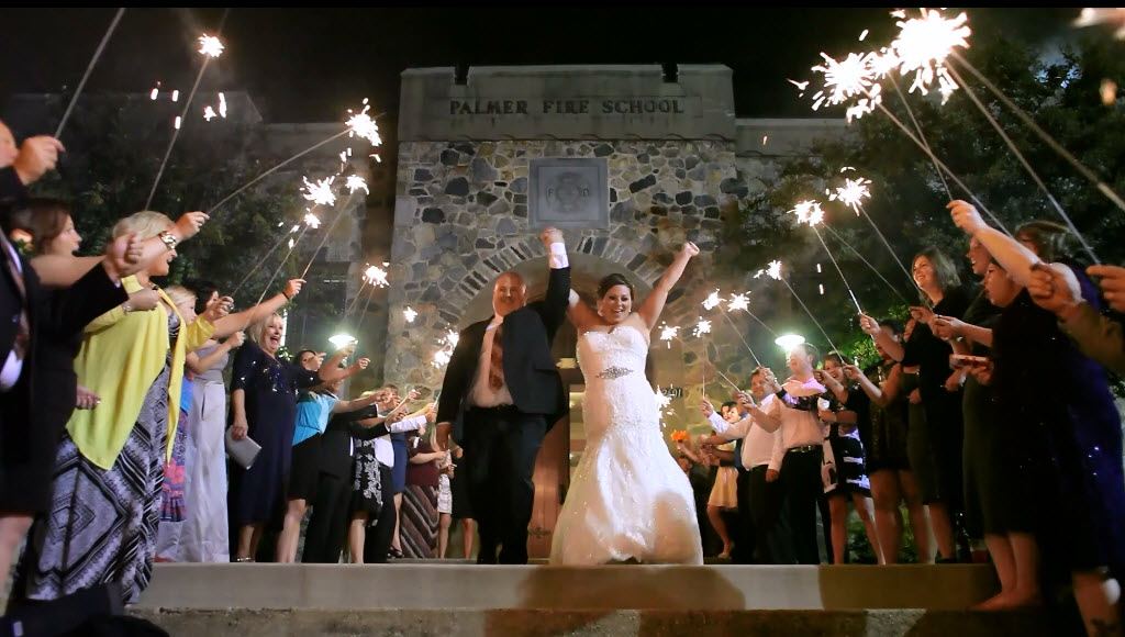 Wedding at The Palmer Building Charlotte NC