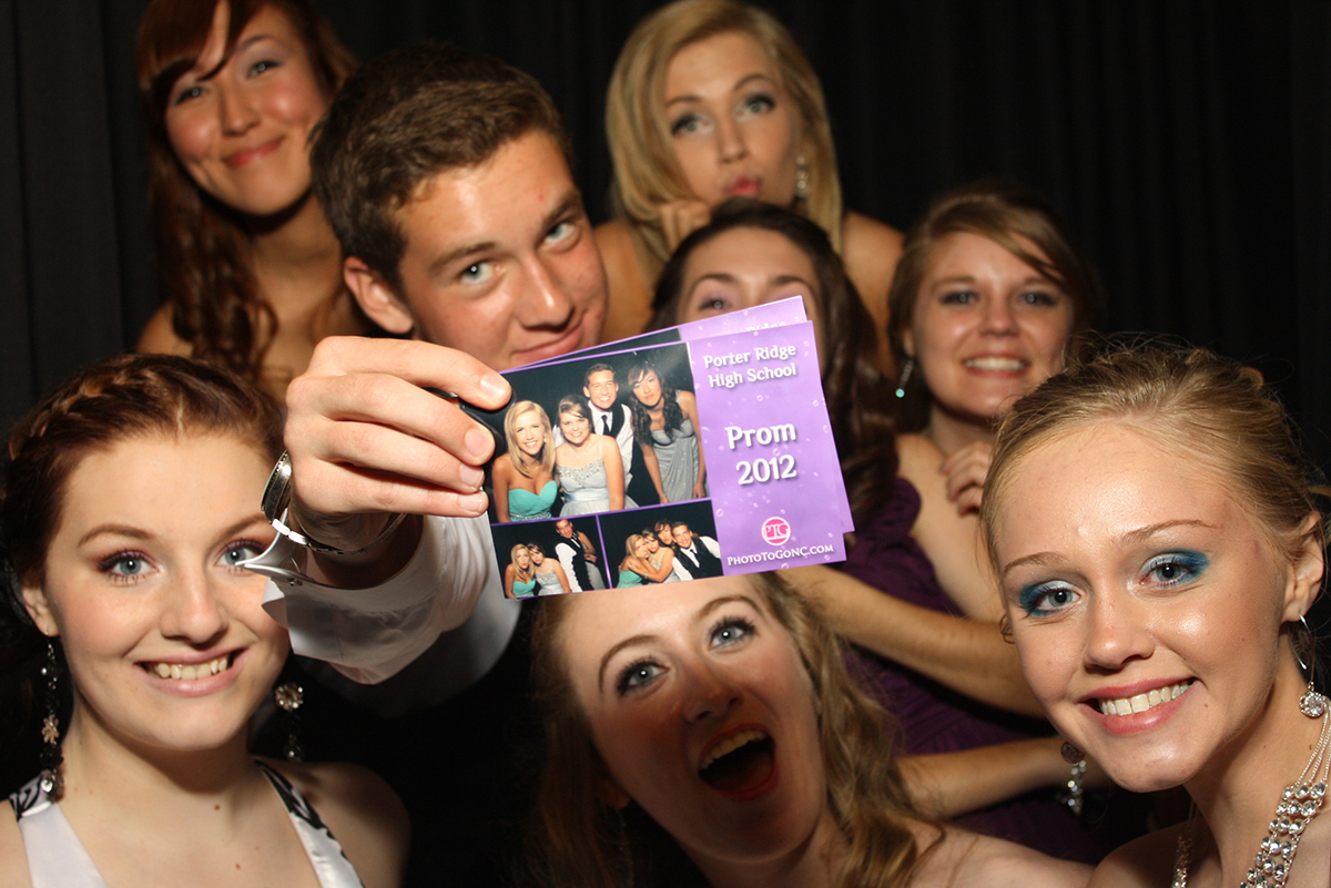 Party photo booth in Charlotte, NC
